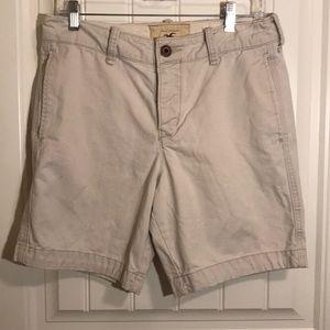 Men's Hollister shorts.